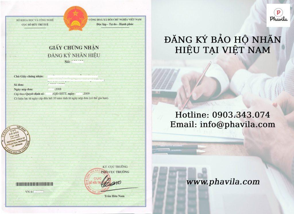 dịch vụ đăng ký nhãn hiệu tại Phavila